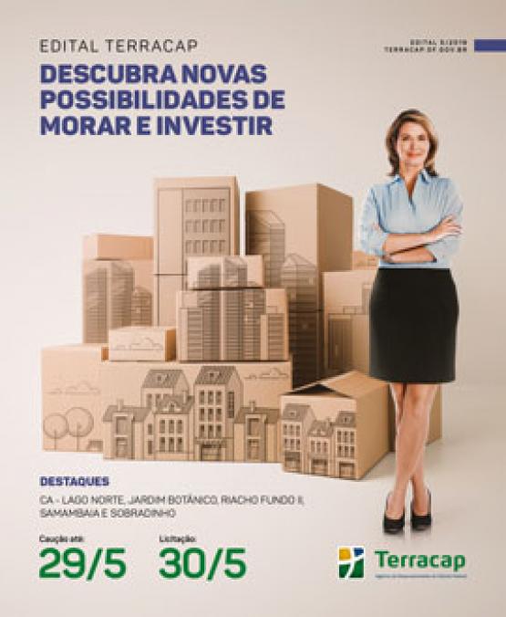 EDITAL DE LICITAÇÃO Nº 05/2019 - IMÓVEIS (REALIZAÇÃO DIA 30/05/2019)