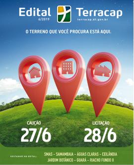 EDITAL DE LICITAÇÃO Nº 06/2019 - IMÓVEIS (REALIZAÇÃO DIA 28/06/2019)