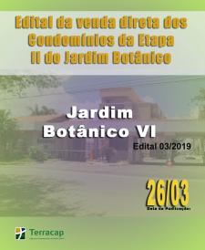EDITAL DE CONVOCAÇÃO PARA VENDA DIRETA N° 03/2019 - ESTÂNCIA JARDIM BOTÂNICO VI