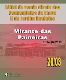 EDITAL DE CONVOCAÇÃO PARA VENDA DIRETA N° 02/2019 - MIRANTE DAS PAINEIRAS