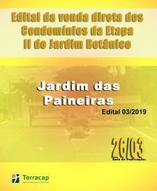 EDITAL DE CONVOCAÇÃO PARA VENDA DIRETA N° 03/2019 - PARQUE JARDIM DAS PAINEIRAS