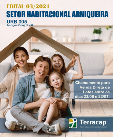 Edital 03/2021 - Venda Direta Arniqueira URB 05