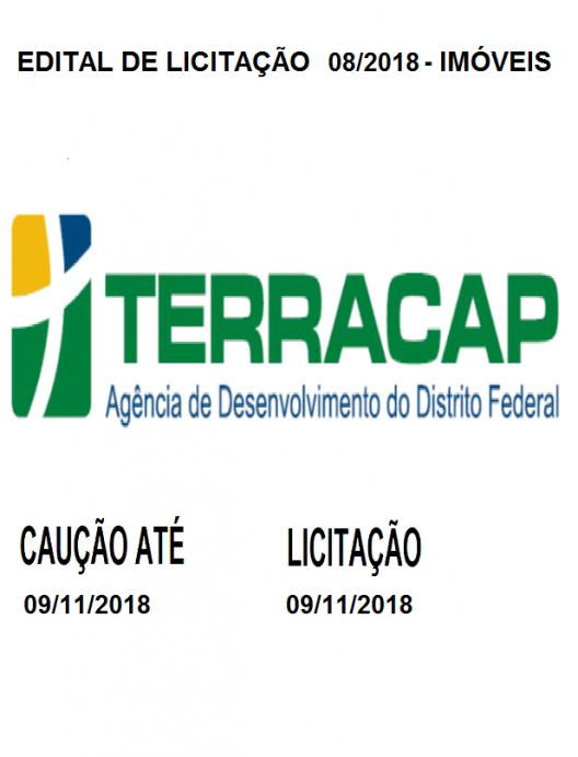 EDITAL DE LICITAÇÃO Nº 08/2018 - IMÓVEIS