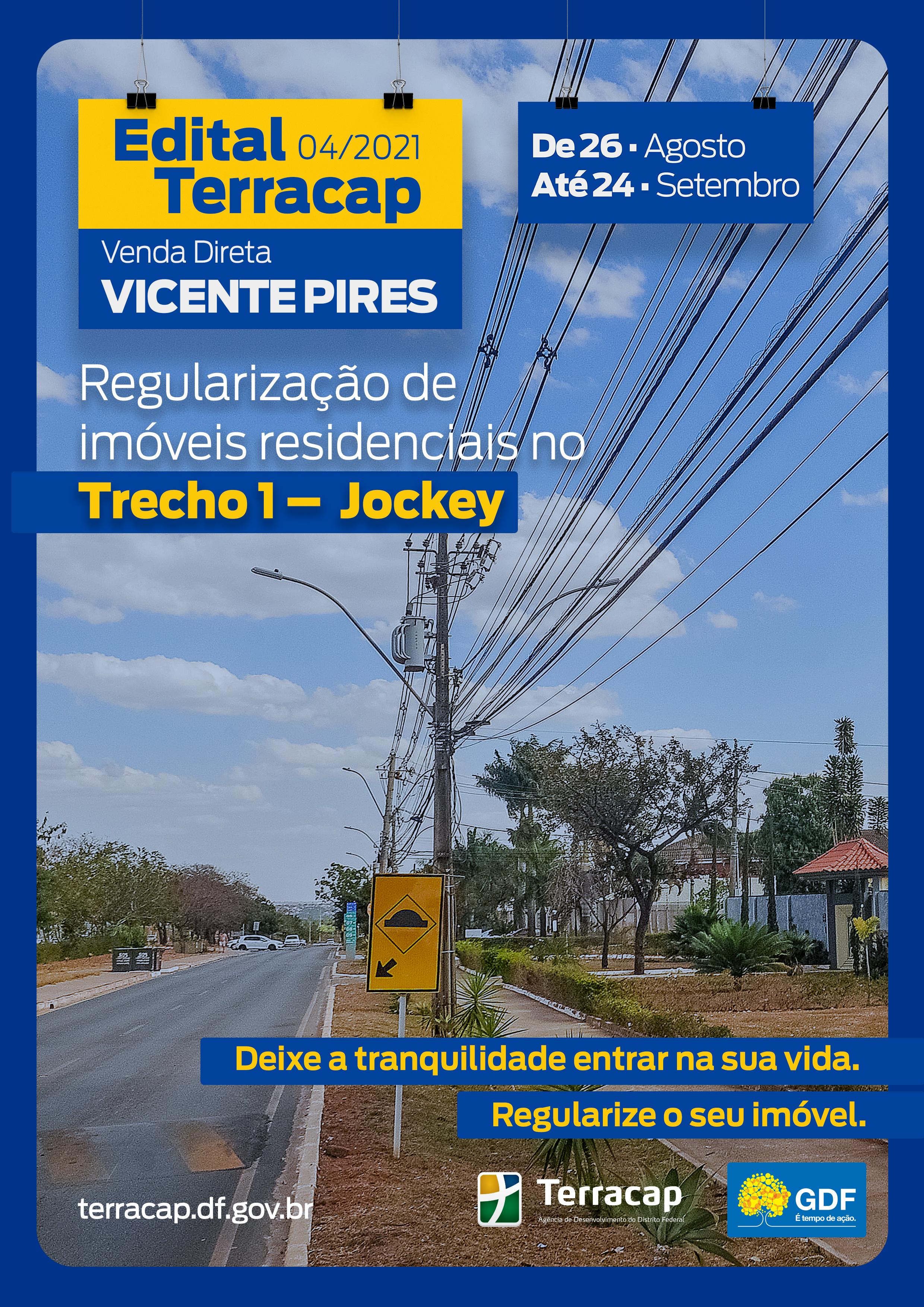 Edital 04/2021 - Venda Direta Vicente Pires Trecho 1