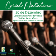 Terracap é palco do Coral Infantojuvenil de Vozes e Violões Santo Afonso